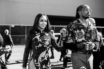 Quavo Has His Hands Full Of Saweetie During Yacht Date Night