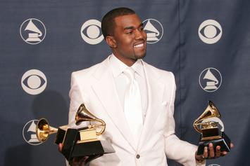 Kanye West Shocks Twitter After Urinating On His Grammy: Reactions