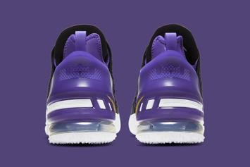 "Nike LeBron 18 ""Lakers"" Revealed: Official Photos"