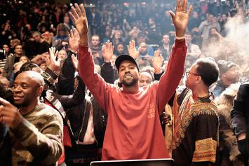 """Kanye West Reportedly Files For Rights To """"God Save America"""""""