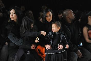 Kanye West Shows Off His Daughter's Rockstar Halloween Costume