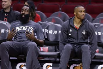 """Harden & Westbrook """"Concerned"""" About Rockets Future: Report"""