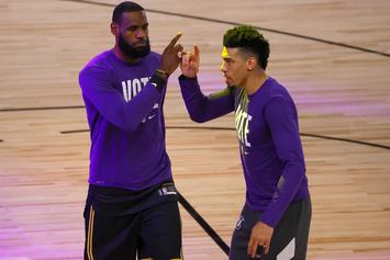 LeBron James Offers Praise To Danny Green & Quinn Cook