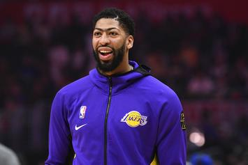 Anthony Davis' Contract Extension Has Lakers Fans In Heaven