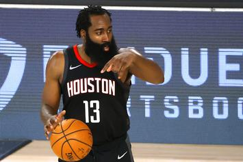 James Harden On Trade Rumors & Why He Ditched Practice To Hang With Lil Baby