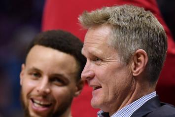 Steve Kerr Recounts The Time He Fined Drake $500