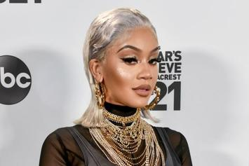 """Saweetie Shouts Out Fan Who Got Tattoo Of Her Face: """"Real Icy Boy"""""""