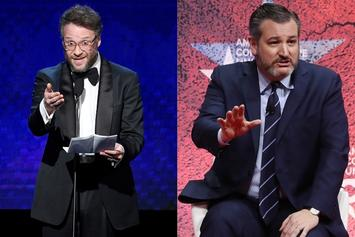"Seth Rogen Calls Ted Cruz ""A F*cking Clown"" In Heated Twitter Beef"
