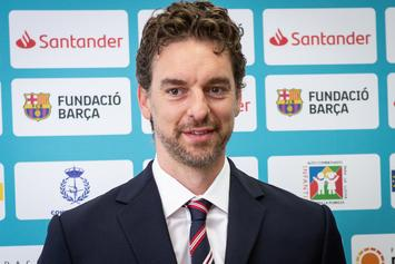 Pau Gasol Speaks On Naming Daughter After Gianna Bryant