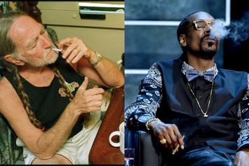 Willie Nelson Reflects On Out-Smoking Snoop Dogg In Amsterdam