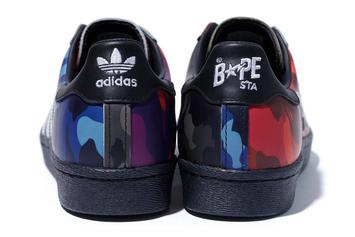 Bape x Adidas Superstar Dropping In Two Colorways: Photos