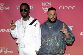DJ Khaled & Diddy Connect For Meeting Of The Bosses