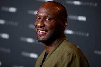 Lamar Odom Takes Down Sparring Partner Ahead Of Aaron Carter Fight