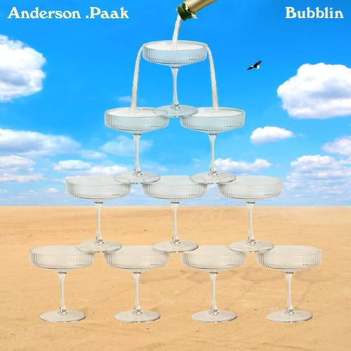 "Anderson .Paak - ""Bubblin"" cover art"