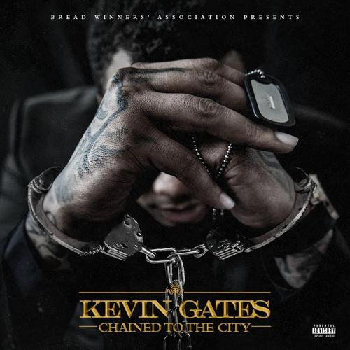 Kevin Gates chained to the city art
