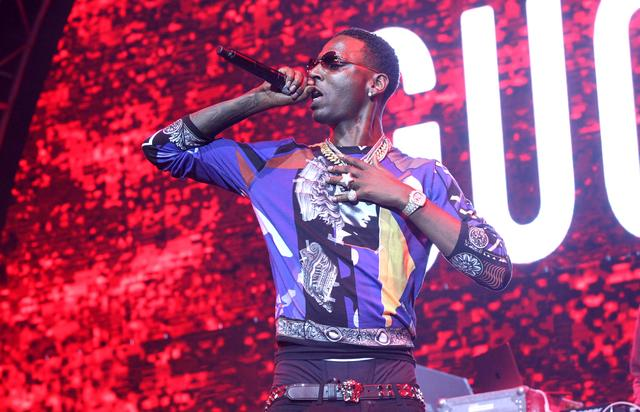 Young Dolph performing