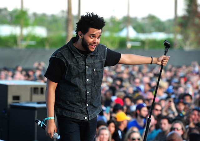 The Weeknd at Coachella 2012