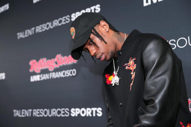 Travis Scott at Rolling Stone Live SF With Talent Resources