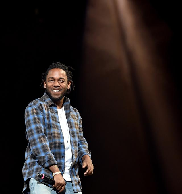 Kendrick Lamar at Coachella 2017
