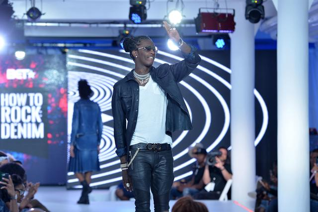 Young Thug at BET How to Rock 2016