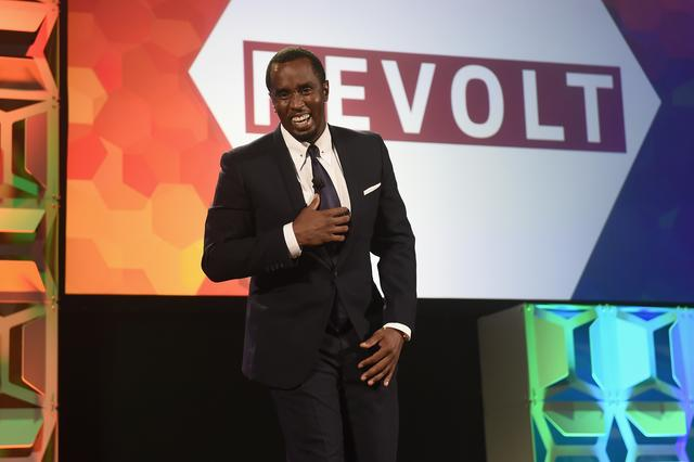 Diddy at Revolt event