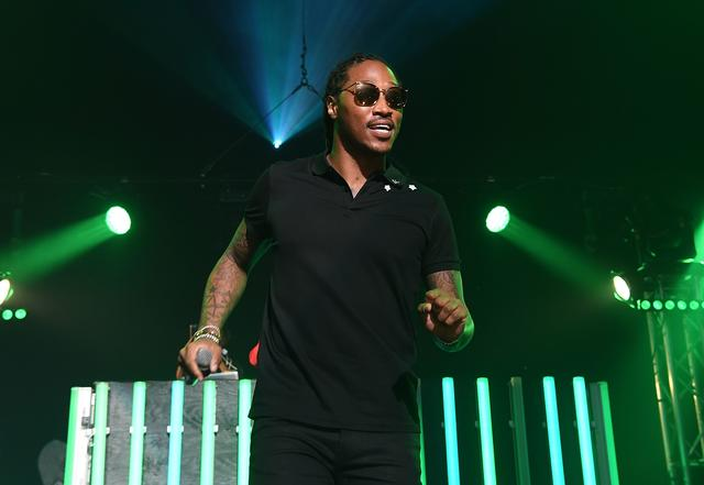Future at Gucci & friends homecoming concert