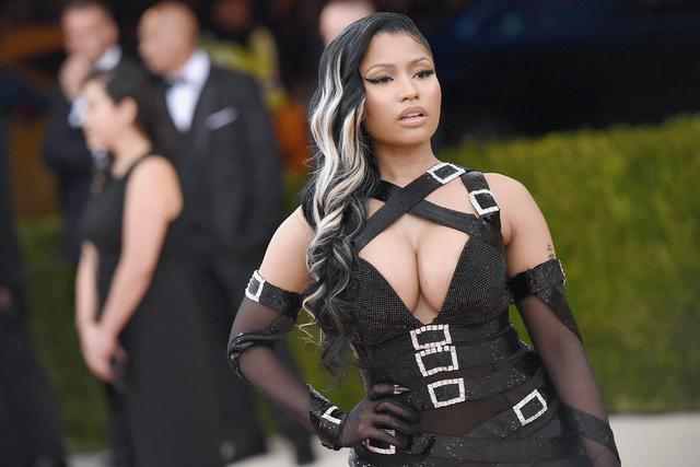 Nicki Minaj at the Met Gala 2016