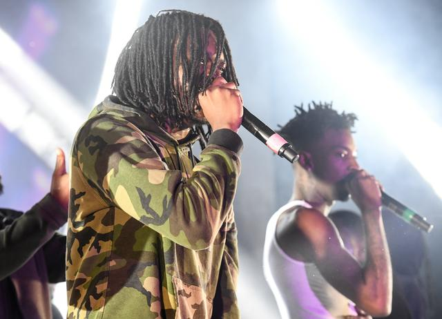 Young Nudy and 21 Savage in Atlanta