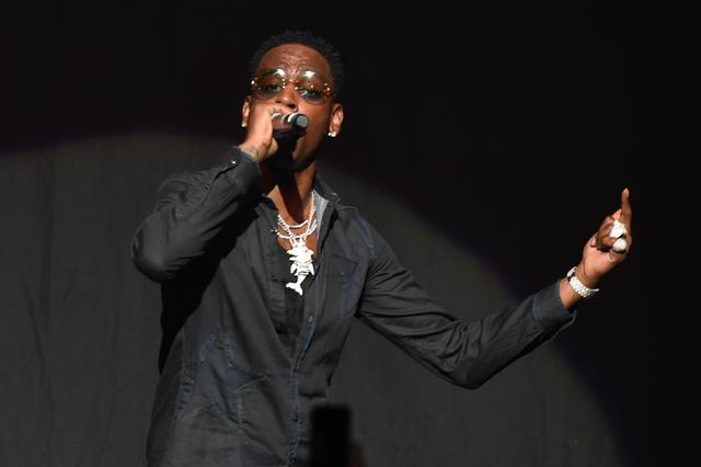 Young Dolph in concert