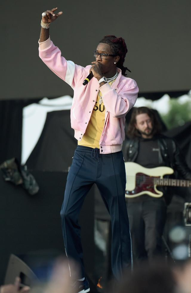 Young Thug at the Meadows
