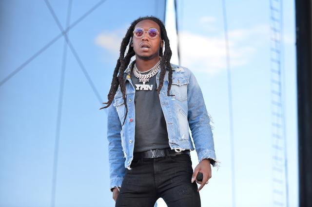Takeoff on festival stage