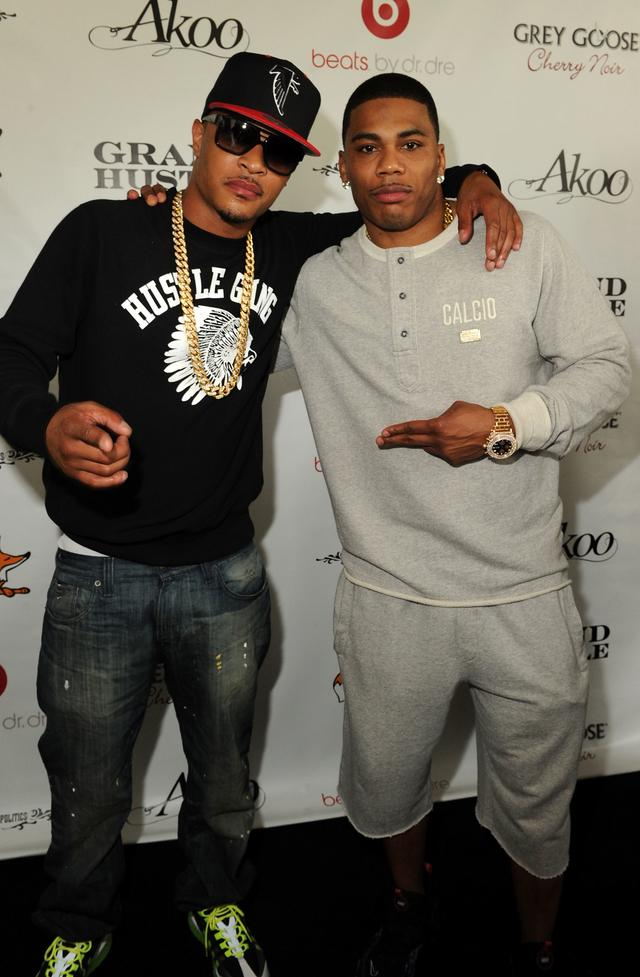 T.I. & Nelly in Atlanta 2012