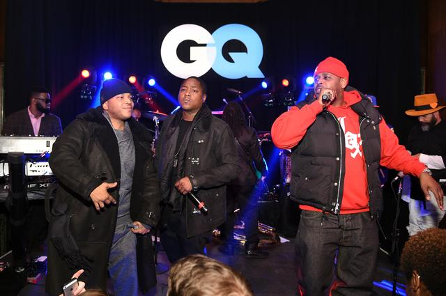 The Lox performing