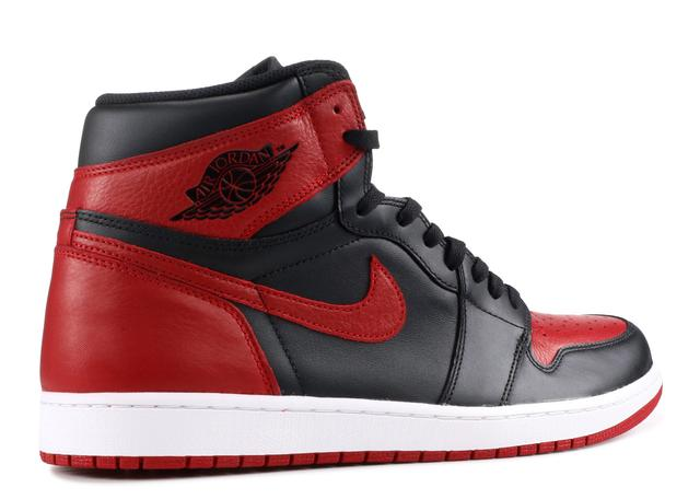 Nike Air Jordan I red and black