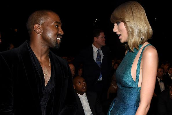 Kanye West and Taylor Swift together