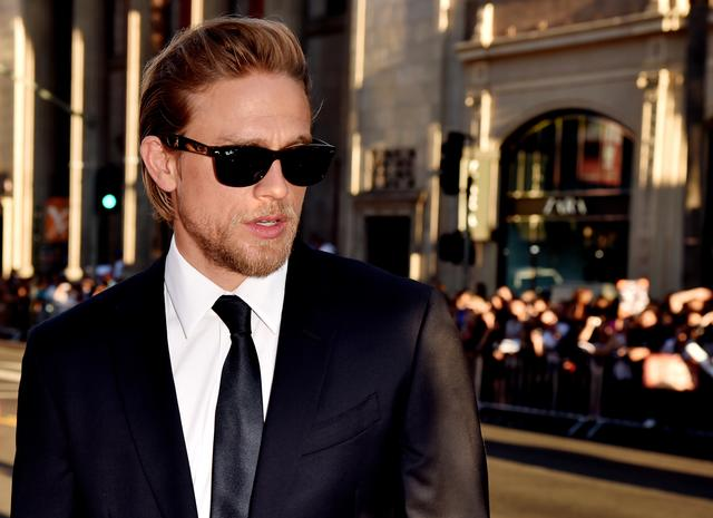 Charlie Hunnam of Sons of Anarchy cast