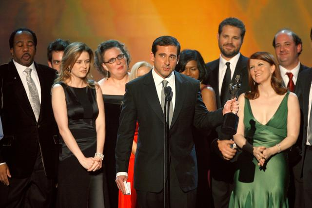 The cast of the Office in 2007