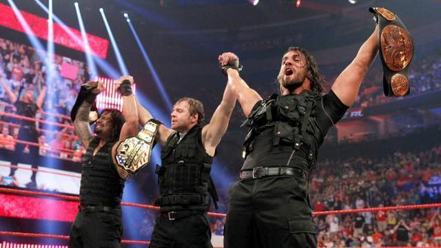 Reigns, Ambrose, Rollins