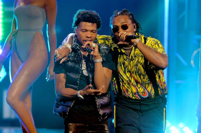 Lil Baby and Gunna at BET Awards