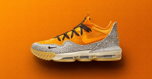 "LeBron 16 Low ""Safari"""