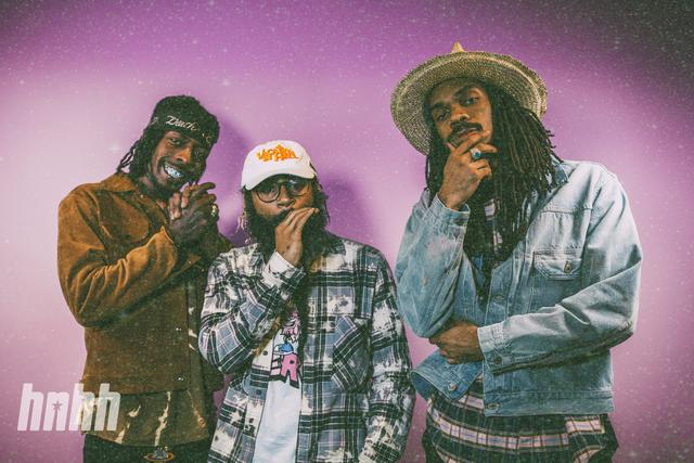 Flatbush Zombies at HNHH office
