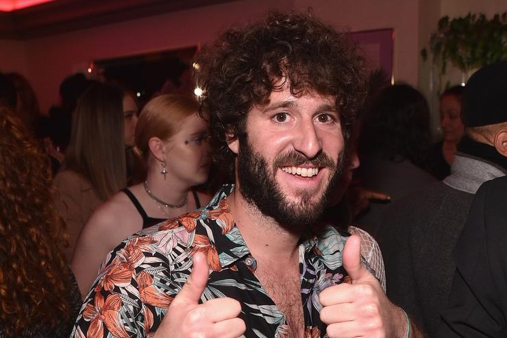 Lil Dicky giving thumbs up
