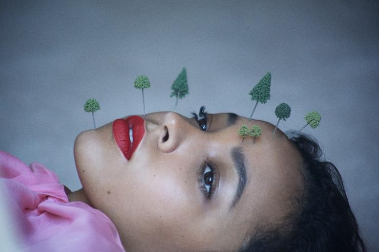 Tinashe's photo shoot with Dazed magazine