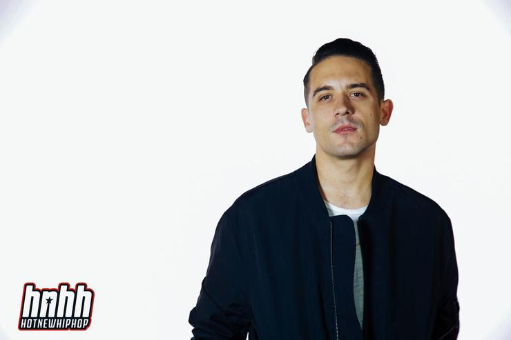 G-Eazy at the HotNewHipHop offices.