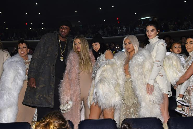the kardashians at yeezy season 3