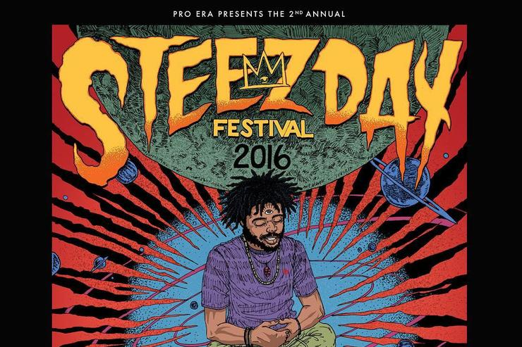Steez Day festival flyer