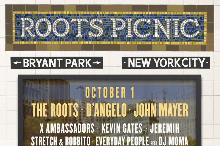 Roots Picnic NYC flyer