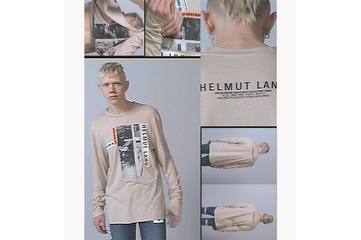 Helmut Lang x Travis Scott