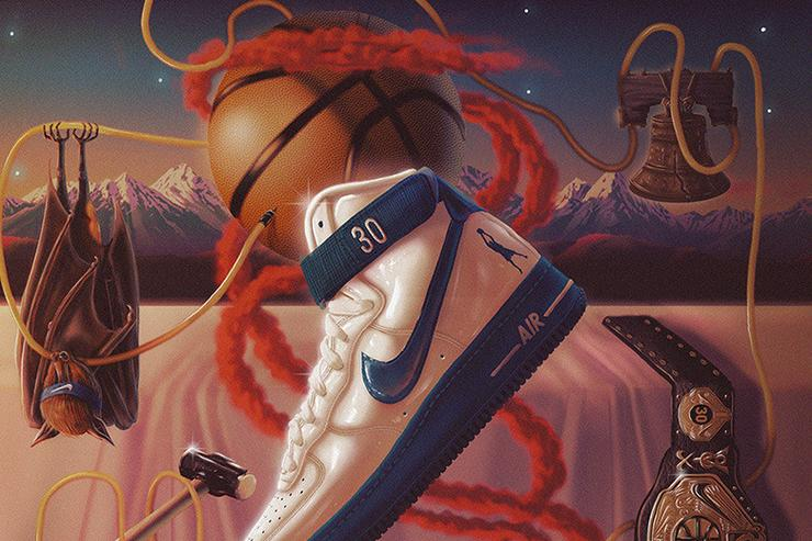 "Nike Air Force 1 High Sheed ""Rude Awakening"""