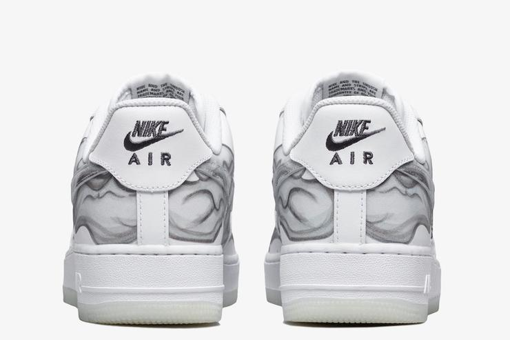 "a7b58915c936 Halloween-Themed Nike Air Force 1 ""Skeleton"" Releasing Today ..."